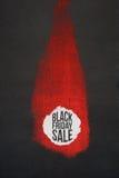 黑星期五销售海报创造性的设计  库存图片