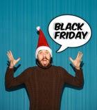 黑星期五销售-假日购物概念 图库摄影