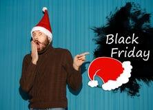 黑星期五销售-假日购物概念 免版税库存图片
