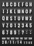 黑星期五,翻转盘区的abc 10 eps 库存图片
