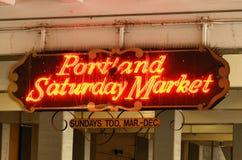 星期六市场 免版税图库摄影