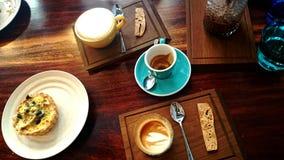 星期天咖啡 免版税图库摄影