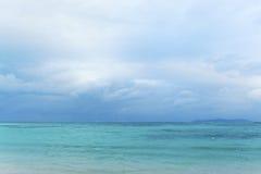 星沙子海滩竹富岛 免版税库存照片