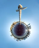 星海广场,大连,中国 库存照片