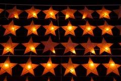 星状灯笼圣诞节装饰 库存照片