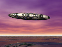 星球的探险家 免版税库存图片