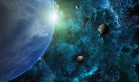 星球系统 免版税图库摄影