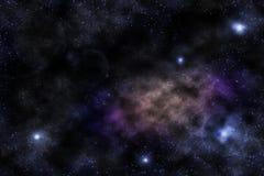 星的天空 库存照片