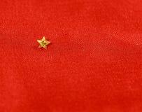 以星的形式黄色黄雀色金刚石 库存照片