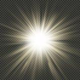 星破裂了光芒作用 EPS 10向量文件 皇族释放例证
