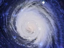 星系空间 库存照片