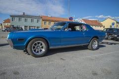 1968年水星美洲狮XR7小轿车 库存照片