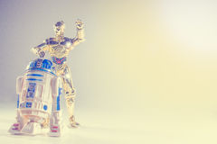 星际大战玩具 免版税库存图片