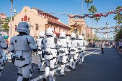 星际大战迪斯尼` s好莱坞演播室的突击队员 免版税库存照片