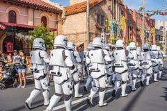 星际大战迪斯尼` s好莱坞演播室的突击队员 免版税库存图片