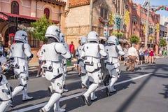 星际大战迪斯尼` s好莱坞演播室的突击队员 图库摄影
