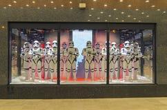 星际大战陈列室的突击队员 巴黎 图库摄影