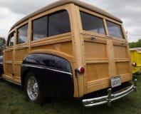 水星1952习惯系列Woodie小型客车 免版税图库摄影