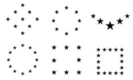 星-传染媒介象星象传染媒介/星象/星传染媒介 皇族释放例证
