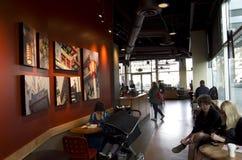 星巴克咖啡店西雅图 免版税库存照片