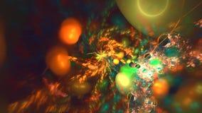 星系向日葵螺旋 影视素材