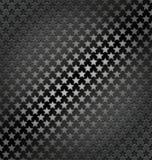 星轻无缝的动态金属背景 免版税库存图片