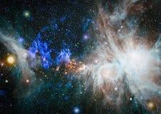 星系-美国航空航天局装备的这个图象的元素 库存照片