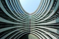 星系苏荷区,北京内部空间  免版税库存图片