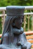 星系表达999雕塑 免版税库存照片