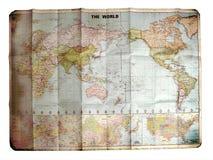 映射世界 免版税库存图片