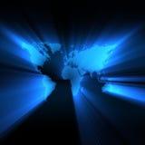 映射攀爬世界 免版税图库摄影