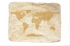 映射旧世界 免版税库存照片