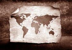 映射葡萄酒世界 免版税图库摄影