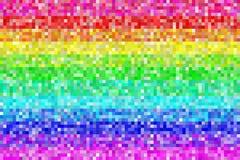映象点彩虹样式背景 EPS8传染媒介 库存图片
