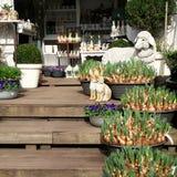 春天和复活节装饰 免版税图库摄影
