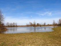 春天和水 库存图片