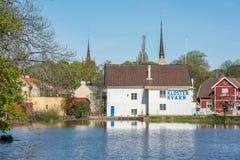 春天在瑞典 库存图片