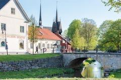 春天在瑞典 免版税库存图片