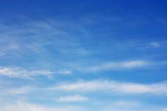 春天天空。 免版税库存图片