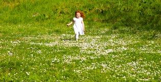 春天奔跑 库存照片