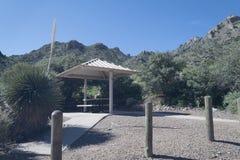 春天峡谷野餐站点10 免版税库存图片