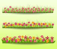 春天开花传染媒介例证 免版税库存照片