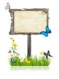 春天标志 库存图片