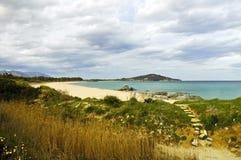 春天的颜色在撒丁岛5 免版税库存图片