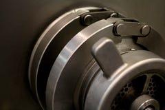 春天缓冲器的细节是一个机械润滑元素 免版税库存图片