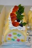 春季蛋糕卷 免版税图库摄影