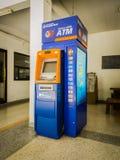 春武里市,泰国- 2017年5月13日:在公寓的盘谷银行ATM 图库摄影