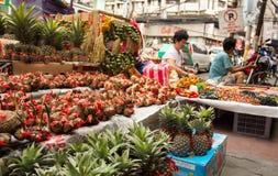 春节在唐人街 免版税库存照片