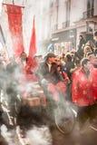 春节游行在巴黎 免版税库存图片