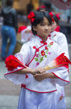 春节游行 库存图片